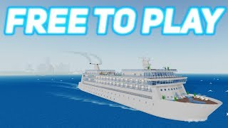 Best Ship! Free To play! Roblox Cruise Ship Tycoon
