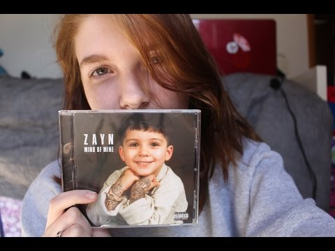 ZAYN Mind Of Mine UNBOXING | Olivia Rena