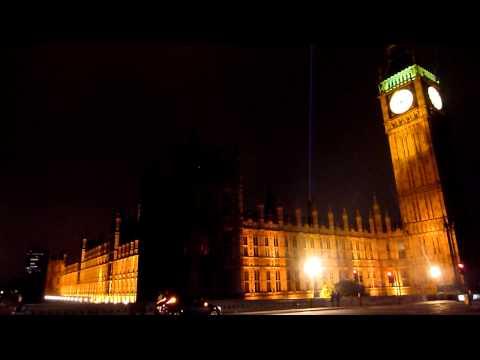 listening to Big Ben at midnight