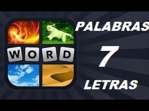 Soluciones de 7 Letras - Niveles 1 a 961 - 4 Fotos 1 Palabra. Ver descripción! Android, iPhone, iOS