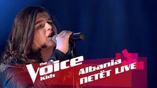Sara - Cryin&#39  Netët Live  Nata 2  The Voice Kids Albania 2018