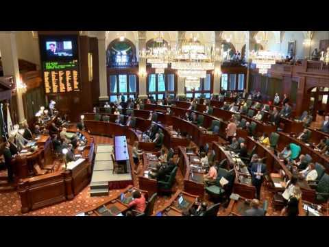 Illinois House overrides Gov. Bruce Rauner's budget veto - July 6, 2017