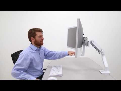 Ergotron HX Arm Monitorhalterung Produktvideo