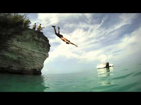 Bermuda Cliff Jumping GoPro HD