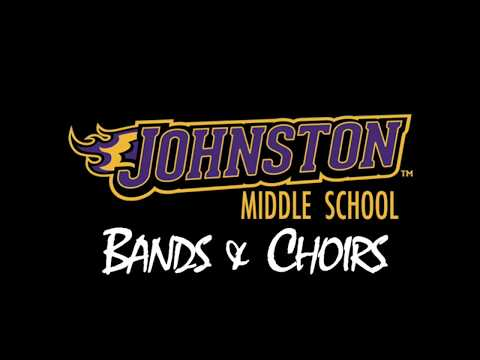 """""""When You Believe"""" performed by students of the Johnston Middle School Bands & Choirs"""