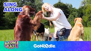 Doggy high five - awesome sauce | gonoodle