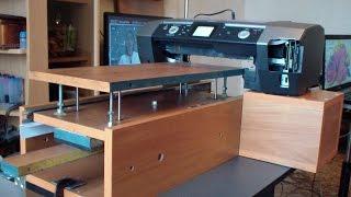 Фото принтер Эпосн Epson R 340  переделанный под пярмую печать на твёрдых материалах(, 2016-11-09T07:26:05.000Z)