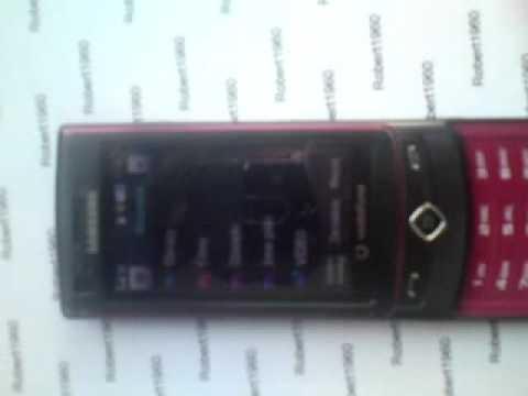 Samsung S8300V pokaz
