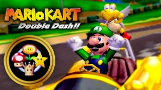 Mario Kart: Double Dash!! - Grand Prix: Mirror All Cup Tour!! (2 Player)
