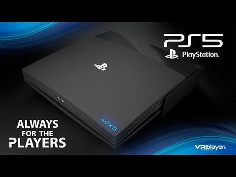 Sony PlayStation 5 - PS5 Concept Design Trailer, Welcome to the future of Gaming - VR4Player