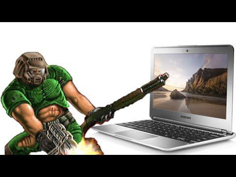 Play Doom & Quake on Chrome Book - Offline Mode (Dr. NOOB's Lab)
