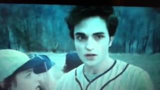 Twilight: Baseball scene
