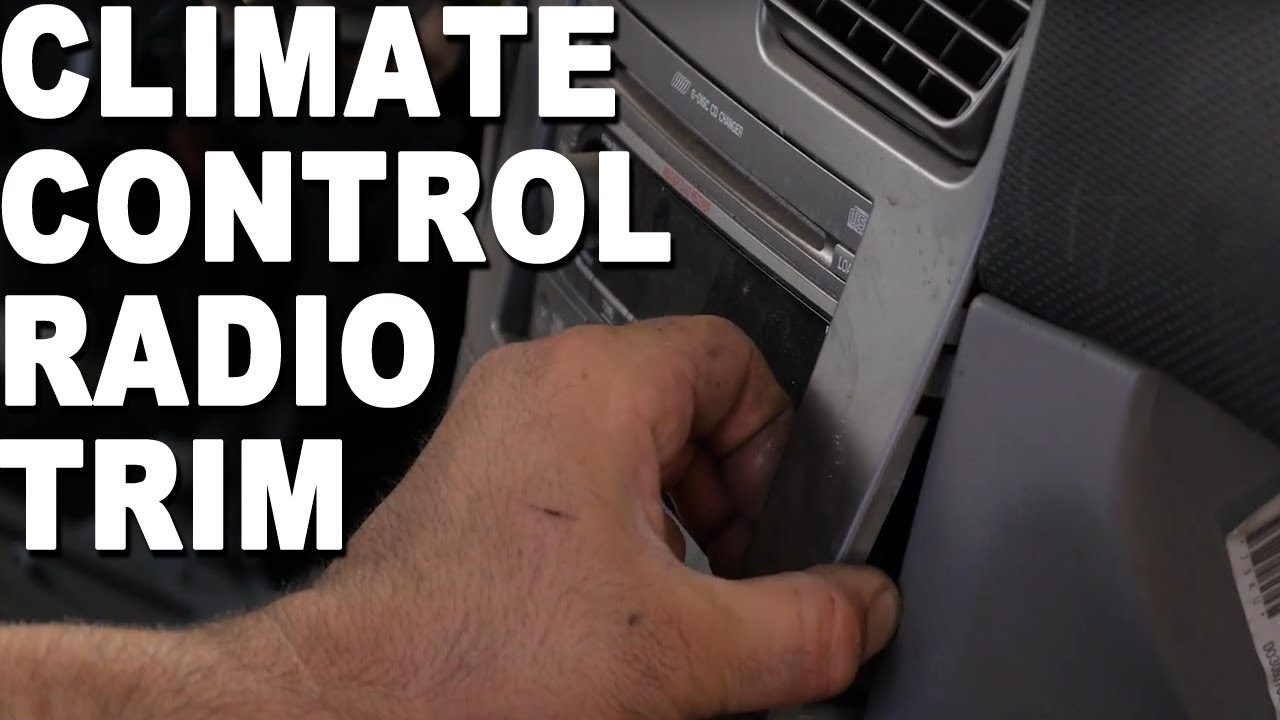 2009 Subaru Forester Stereo Wiring Diagram Aiphone How To Remove An Ac Climate Control 2004 Youtube