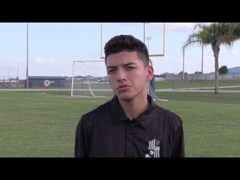 Athlete Spotlight: Anthony Cruz from Ridge Community High School