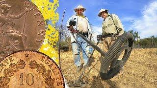 #Detectando Hallazgo de Impresionantes Monedas Antiguas de O...