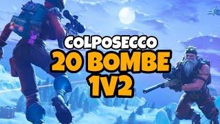 20 BOMBE NELLA MODALITÀ COLPOSECCO