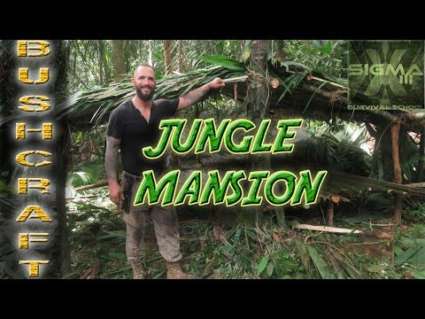 Build a Jungle Survival Mansion in a Day