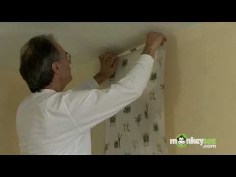 Installing the First Sheet of Wallpaper