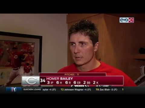 Homer Bailey sticking to the process despite two bad starts to his season