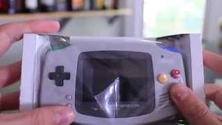 Super Famicom-styled Game Boy Advance Unboxing