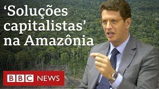 Ricardo Salles: Multas e áreas de conservação não são solução para desmatamento
