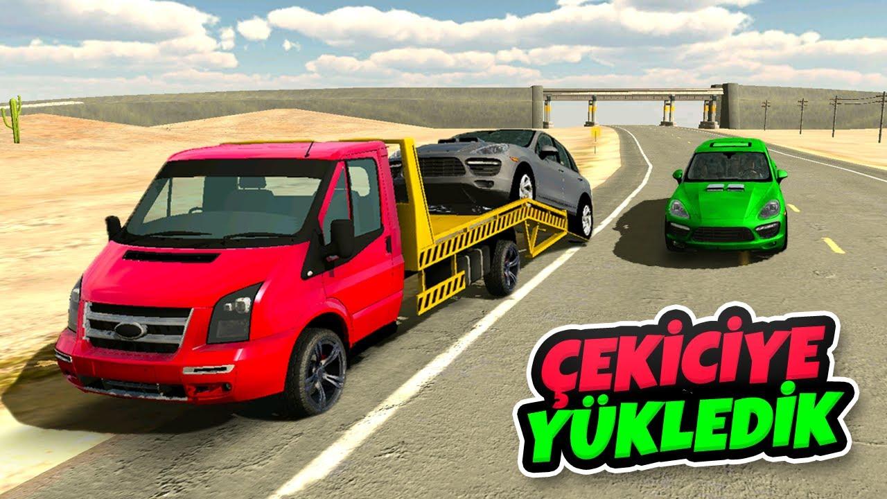 Pahalı Arabamızı Çekiciye Yükledik - Car Parking Multiplayer