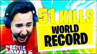 51 KILLS ► ON ÉGALE LE WORLD RECORD PC FORTNITE !!