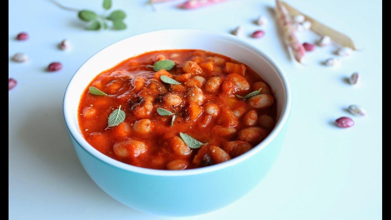фасоль в томатной пасте на зиму рецепты с фото