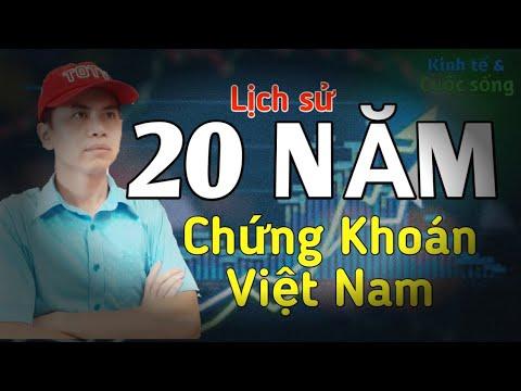Lịch sử 20 năm chứng khoán Việt Nam và những đợt suy giảm 78% – Liệu lần này có khác