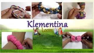 Плетение из резинок  ♣Klementina Loom♣. Rainbow Loom Klementina. Видеоуроки по плетению.