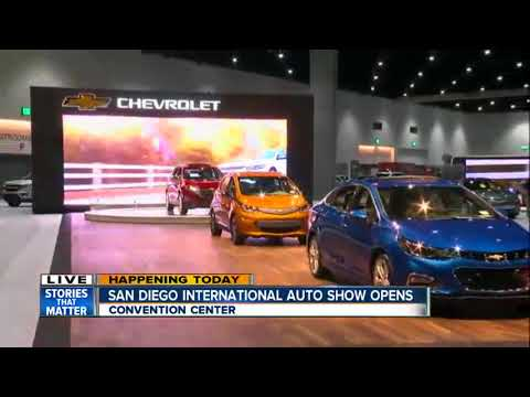San Diego International Auto Show Opens At The Convention Center - San diego convention center car show