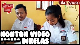Ketahuan Guru Nonton Video ***** Di Kelas | Tiko Sausu