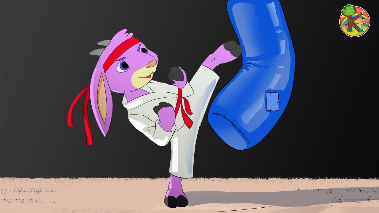 Волк и семеро козлят - Козочка-спортсменка | Тренировка | KONDOSAN Русский
