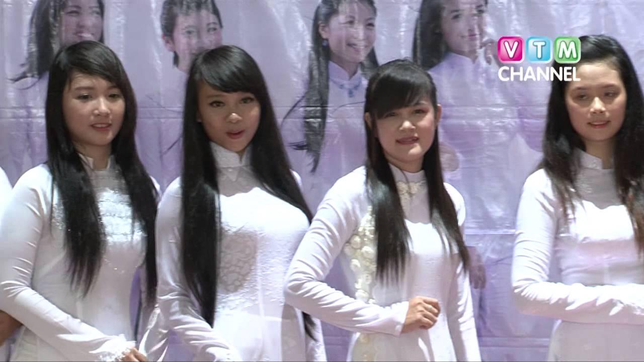 """[VTM Channel] Casting """"Tôi yêu Áo dài 2013"""" tại trường Vũng Tàu"""