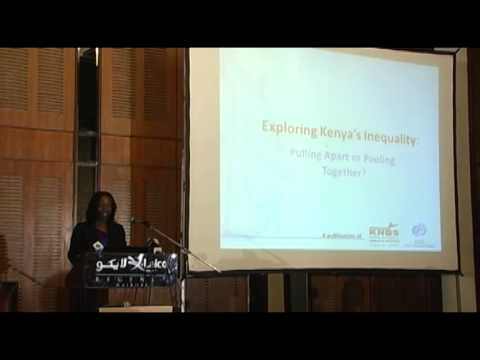 Launch of the Inequality in Kenya Report - Part 1