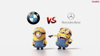 BMW Vs Mercedes Minions Style ( Funny Minions)