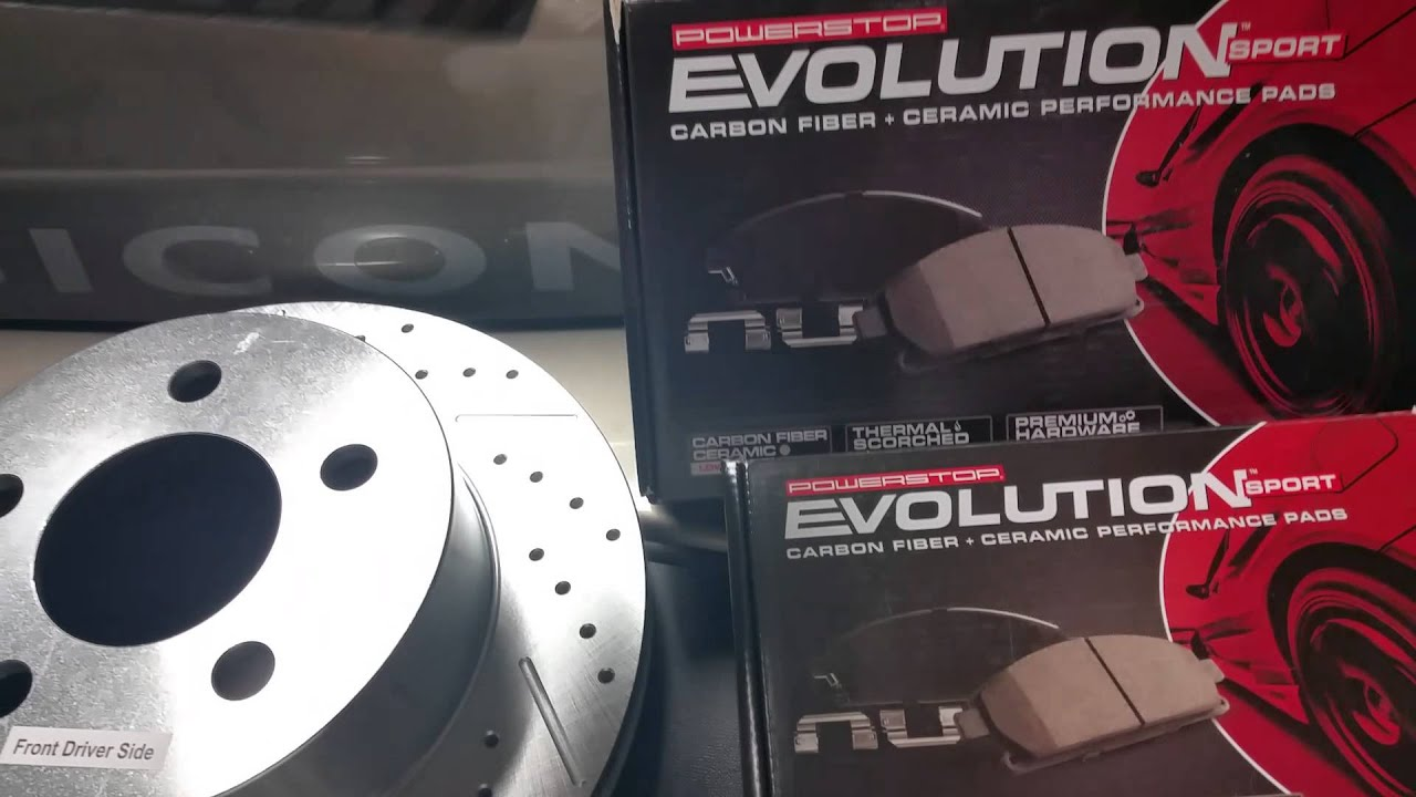 Power Stop Brake Kit Overview Unboxing