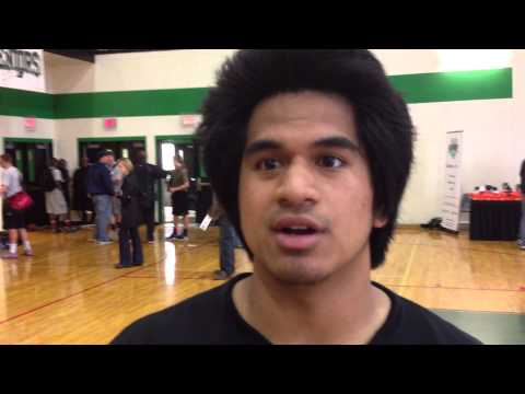 Leon Siofele From Union High School In Camas, Washington Talks About 2013