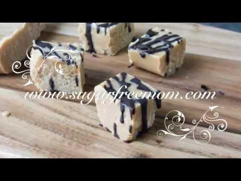 Sugar-Free Low Carb 3 Ingredient Peanut Butter Fudge