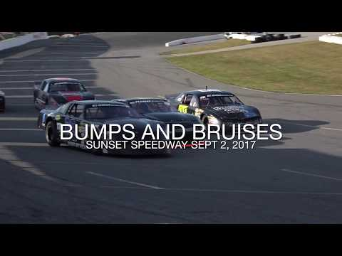 Bumps and Bruises Sept 2, 2017 Sunset Speedway