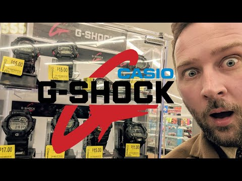 Shocking Discount Casio G-Shock Watch Haul At Walmart! | 555 Gear