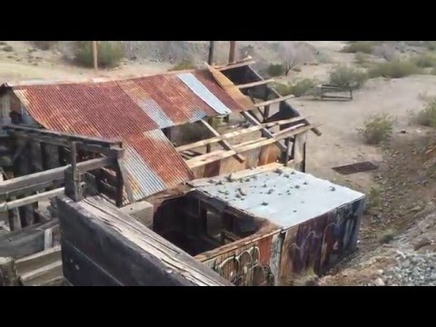 Old Abandoned Mining Camp, Search Light NV.