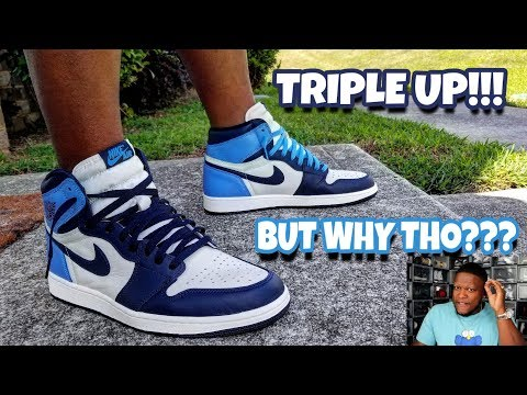 PSYCHOLOGY OF A SNEAKERHEAD!!! JORDAN 1 OBSIDIAN ON FEET REVIEW!!!