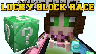 Minecraft: EPIC SO MANY LUCKY BLOCKS RACE - Lucky Block Mod - Modded Mini-Game