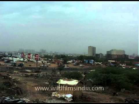Skyscrapers and skyline view of Gurgaon