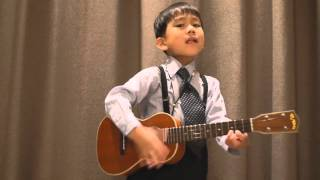Thần đồng ghita hay hơn cả Sunghajung  ukulele the beatles - obladi oblada