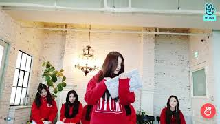 """21/11 #NANCY #낸시 @ VLIVE """"Message to the Fans"""""""