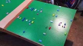 Mr Tims. Lego Play Table Part 2. Lego Train Table.