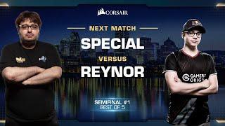 SpeCial vs Reynor TvZ - Semifinals - WCS Fall 2019 - StarCraft II