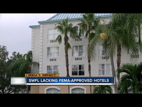 Shortage of hotels for those displaced by Hurricane Irma